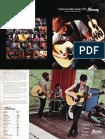 2011 Ibanez Acoustic Guitar Catalog