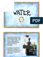 Water Power Point Presentation for Tasmania Years 5 and 6