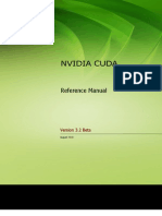 CUDA Toolkit Reference Manual