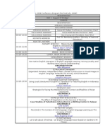 Asia TEFL 2008 Conference Program Updated PerJuly17 (1)