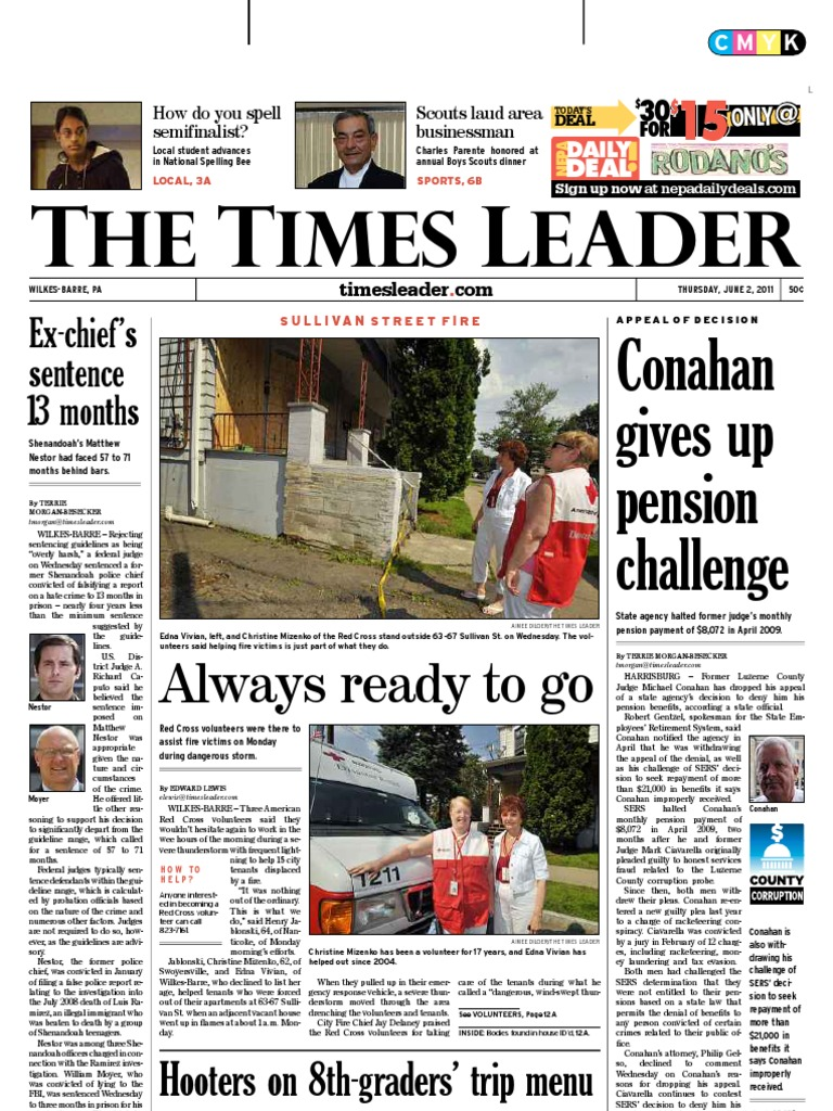 times leader 06 02 2011 crimes business
