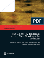 The Global HIV Epidemics among Men Who Have Sex with Men (MSM)