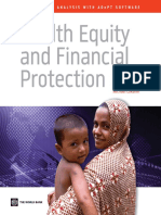 Health Equity and Financial Protection