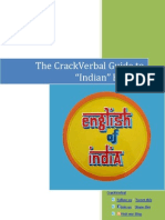 Crack Verbal Guide to Indian English