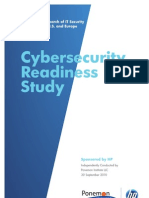 HP Cyber Security Readiness Study SEP 2010