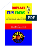 Workplace Fun Ideas Education