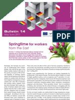 E Bridge Bulletin 14 - Springtime for workers