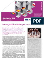 E Bridge Bulletin 13 Demographic challenges for modern Europe
