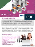 E-Bridge Boletin 5- El mensaje de E-bridge