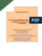La acumulación del capital  - Versión completa en francés