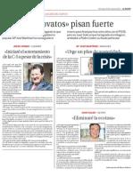 LOS NOVATOS PISAN FUERTE