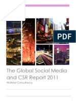 The Global Social Media and CSR Report 2011