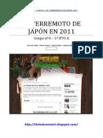 La catástrofe de Japón 2011