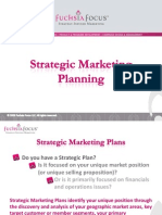 Strategic Marketing Planning Programs