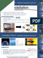 Constellation Presentation for DGLR Raumfahrtkonferenz 2011