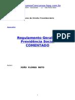 APOSTILA_-_Direito_Previdenciário_-_Regulamento_Geral_da_Previdencia_Social_Comentado