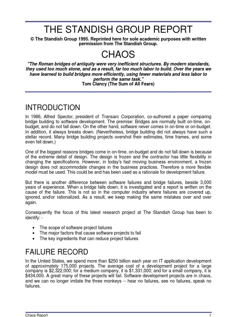 standish group chaos report 2017 pdf