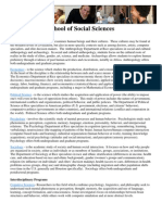 Social Sciences Ctrs Programs FY11