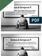 T@rgetTrust - Gerência de Serviços em TI - Gerência de Serviços - ITIL V3