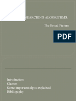 Searching Algo