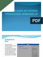 Instalação Windows XP