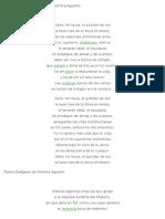 Poema El Surtidor de Oro de Delmira Agustini
