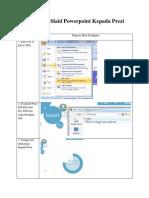 Tukar Power Point Ke PDF