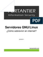 Servidores Linux Sobrevivir Internet