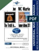 UMC UNI11-27 July 12th, 2011