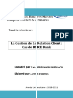 La Gestion de La Relation Client Cas de BMCE Bank