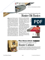 Router Bit Guide and Cabinet