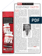 "[ASK DR. HARVEY]  ""ESSENTIAL FATTY"""