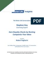 Stephen Key One Simple Idea Richer Life Insights eBook