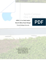 APPLE - A Case Study Analysis 2010-01-28