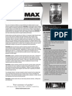 ENDUROMAX Product Data Sheet