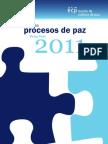 Procesos de Paz 2011