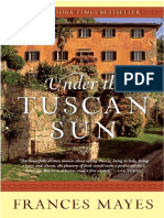 Under the Tuscan Sun by Frances Mayes - Excerpt