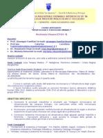 Programma Biotec Spec Anatomia Roma 2008