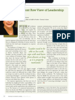 Diversity Journal | A Front Row View of Leadership - Mar/Apr 2011