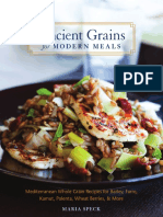 Kamut Salad with Carrots & Pomegranate from Ancient Grains for Modern Meals by Maria Speck