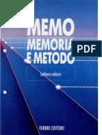 Manuale ITA Memoria e Metodo - Corso Di Lettura Veloce
