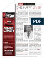 """[ASK DR. HARVEY]  """"ONE HAPPY LIVER"""""""