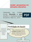 TEXTO 1 - Educar e Aprender