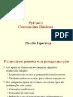Program an Do Em Python - Comandos Basicos