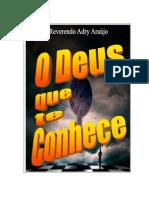 O Deus que te conhece - Adry Araújo