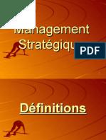 Cours De Management Stratégique