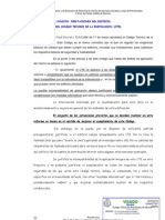 Justifi NO Aplicacion CTE Proy Reforma