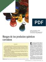 Riesgos Productos Quimicos Corrosivos