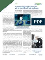 Lake Tanganyika Primary Productivity and Nutrient Uptake