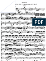 II -Sonata N° 3 in Eb Major 'Violin''